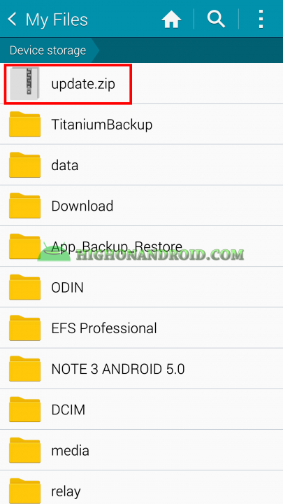 Android App Backup and Restore Titanium Backup 10