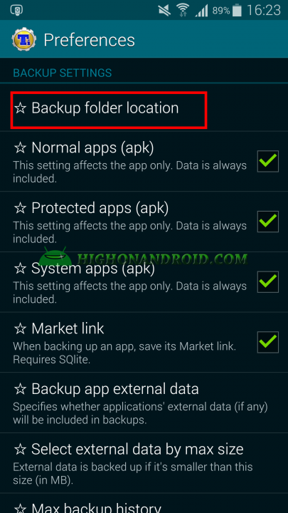 Android App Backup and Restore Titanium Backup 12