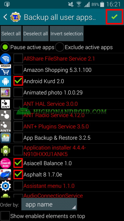 Android App Backup and Restore Titanium Backup 6
