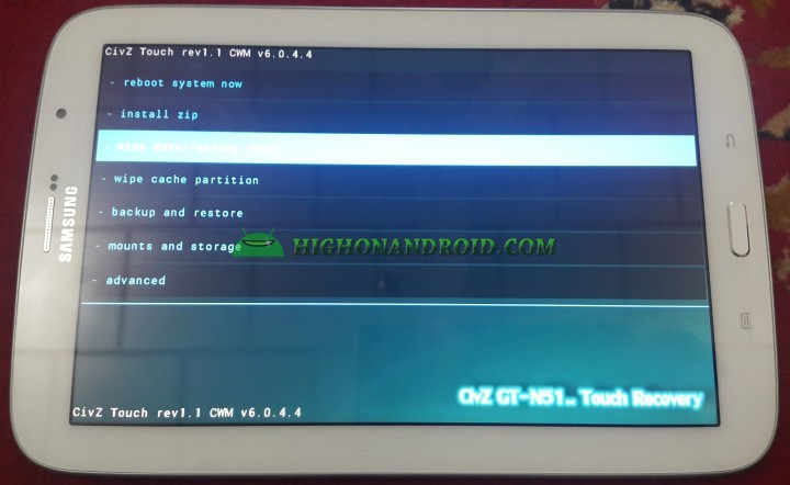 Enter Recovery Mode on Rooted and Locked Android