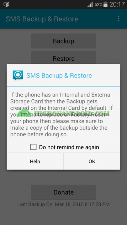 Android Messages Backup 8