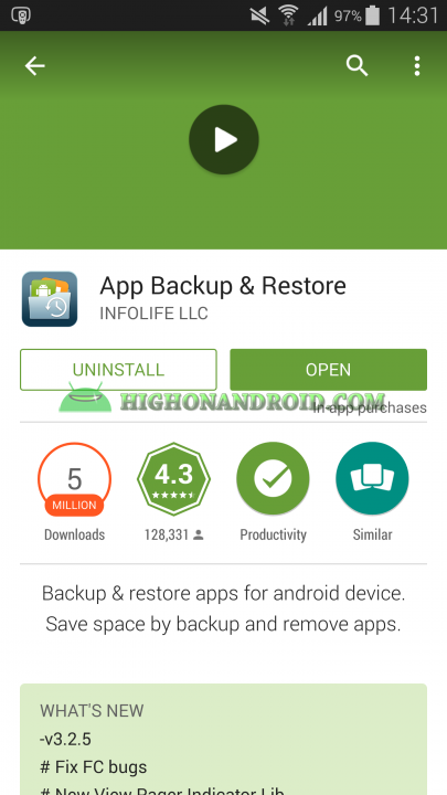 Android App Backup And Restore 1