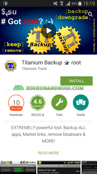 Android App Backup and Restore Titanium Backup