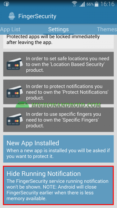 Unlock apps with Fingerprint using Galaxy Note 4  24