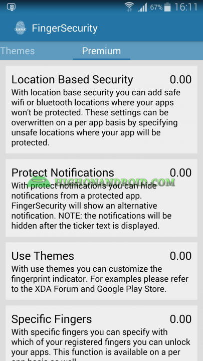 Unlock apps with Fingerprint using Galaxy Note 4  25