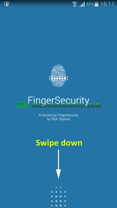Unlock apps with Fingerprint using Galaxy Note 4