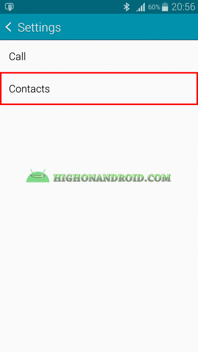Android Contacts Backup 4