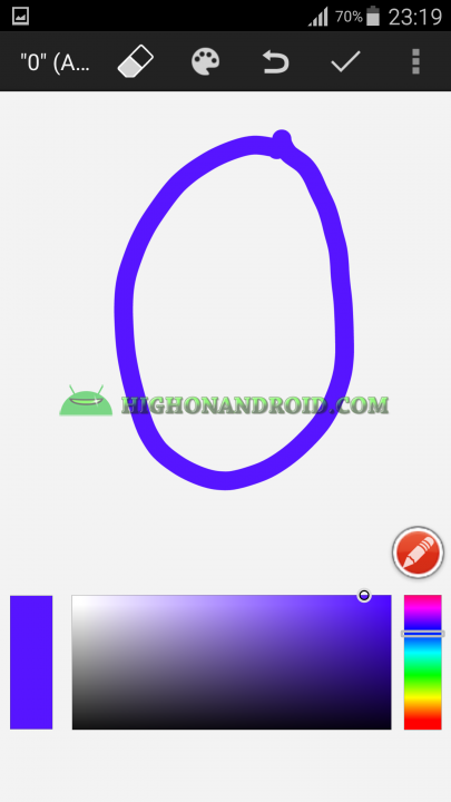 Android draw your own clock widget 5