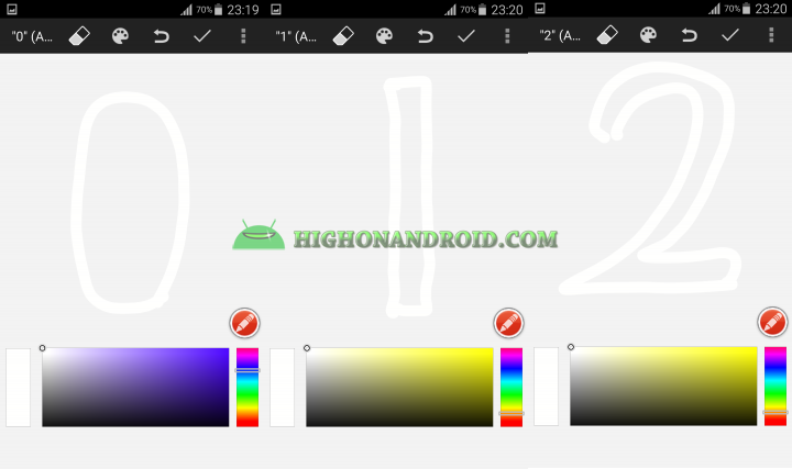 Android draw your own clock widget 7