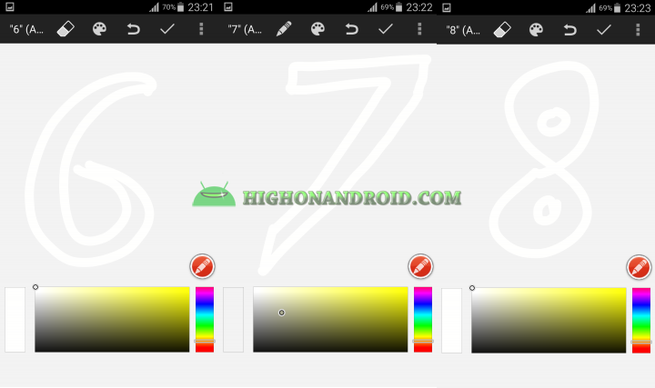 Android draw your own clock widget 9