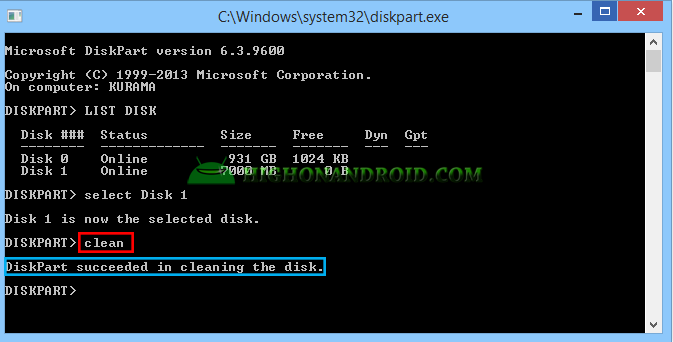 Boot Windows 7 Into Your PC Via Android Device 10