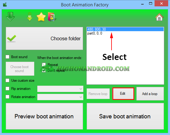 Create Your Own Custom Bootanimation 17