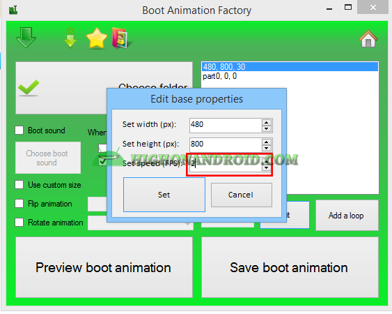 Create Your Own Custom Bootanimation 19