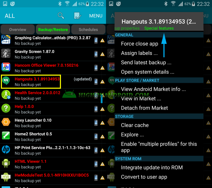 Remove System apps from Android Device 4