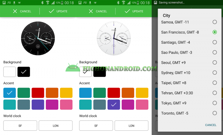 Change Android Wear Watch Face 13