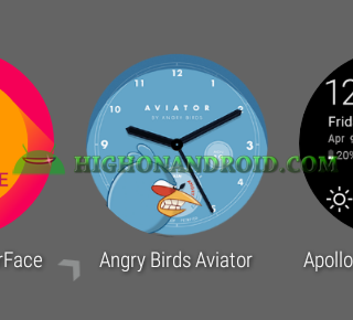 Change Android Wear Watch Face 4