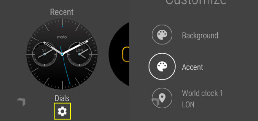 Change Android Wear Watch Face 8