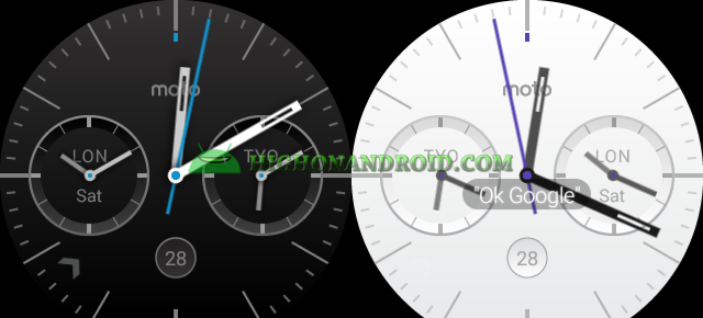 Change Android Wear Watch Face 9