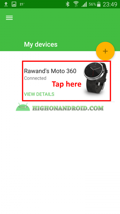 Change Watch Face On Android Wear 8