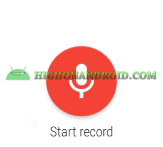 record audio on android wear 3