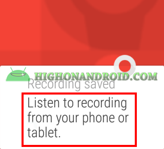 record audio on android wear 8