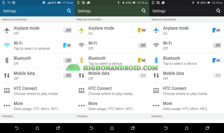 How To Customize and Change Launcher Background on Htc one m9  3