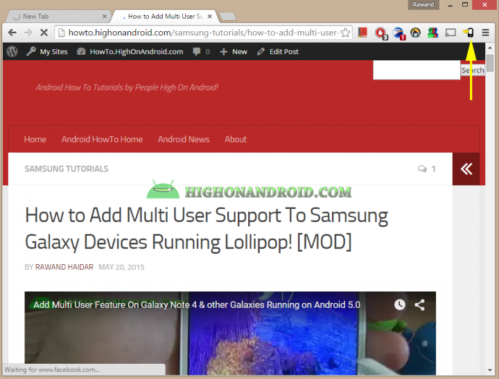 How To Directly Send Web page links from PC to  your android device 13