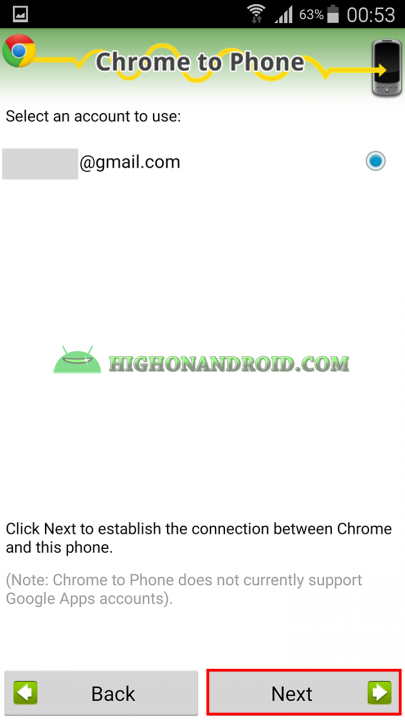 How To Directly Send Web page links from PC to  your android device 9