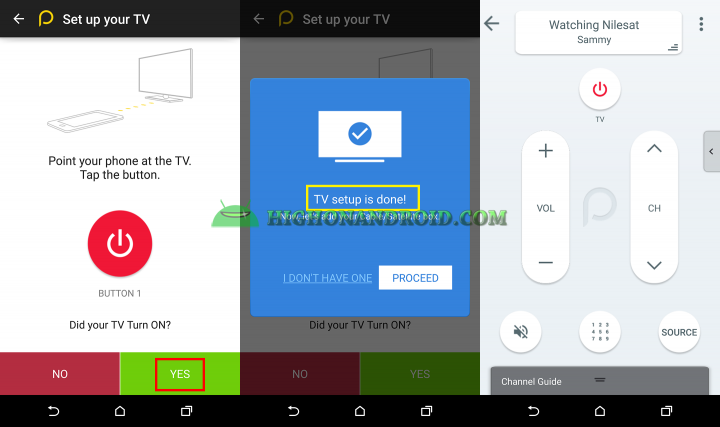 How To use htc one m9 plus as a tv remote control 4