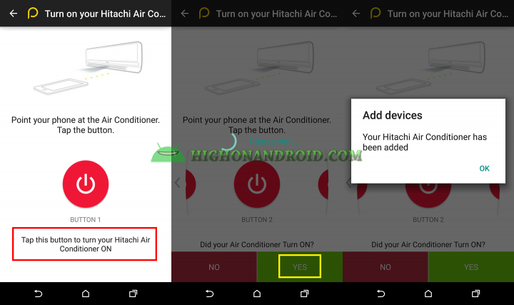 How To use htc one m9 plus as air conditioner controller 3