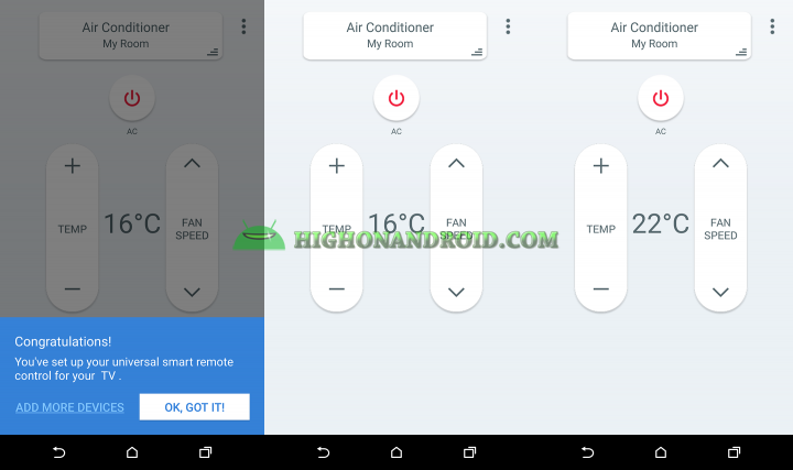 How To use htc one m9 plus as air conditioner controller 4