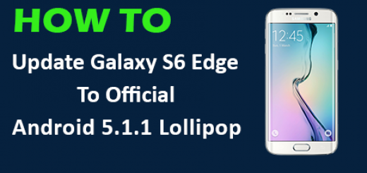 update Galaxy S6 Edge to Android 5.1.1 Lollipop!