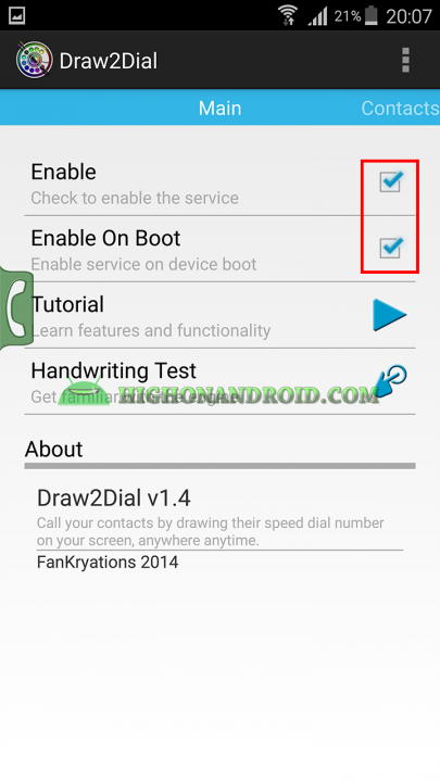 How To Quickly Make Phonecalls on Android 2