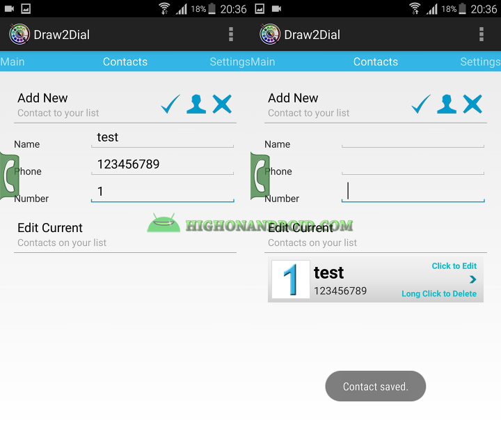 How To Quickly Make Phonecalls on Android 3