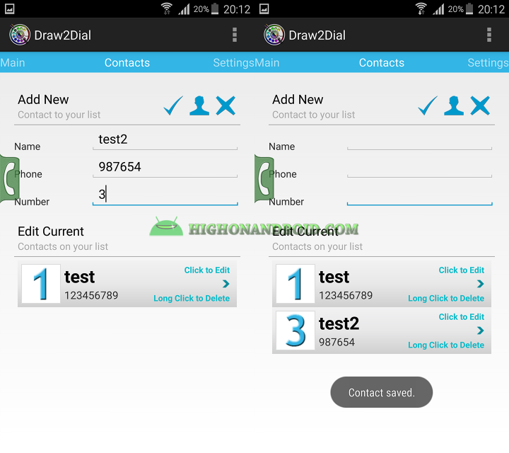 How To Quickly Make Phonecalls on Android 5