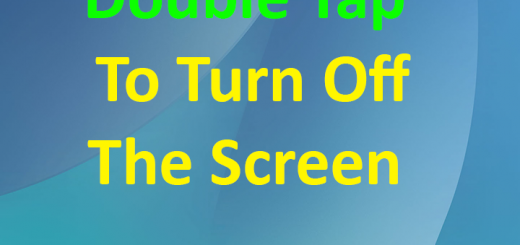 How to double tap to turn off your android screen 4