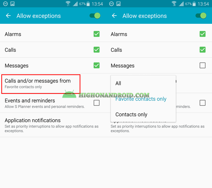 How to use do not disturb mode on samsung galaxy devices 4