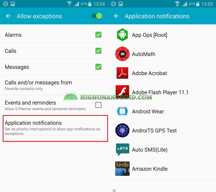How to use do not disturb mode on samsung galaxy devices 5