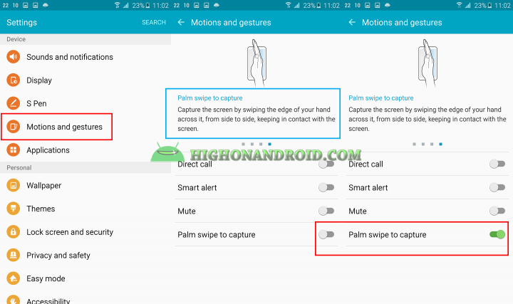 How To Take Screenshots on Galaxy Note 5 method 3