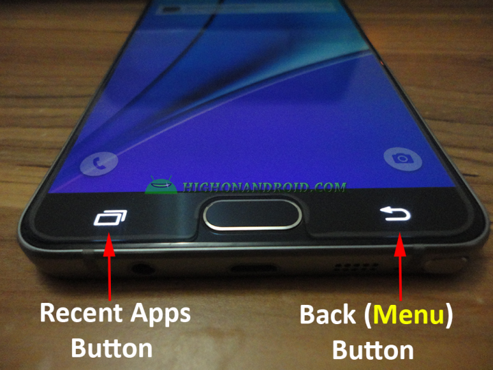 How To Use Menu Button on Galaxy Note 5