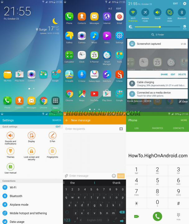 How to Change Themes on Samsung Galaxy Note 5 3