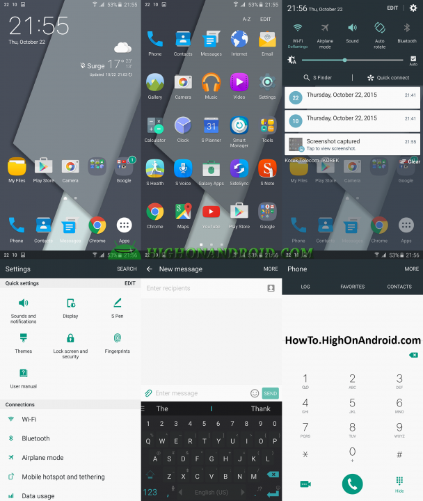 How to Change Themes on Samsung Galaxy Note 5 4