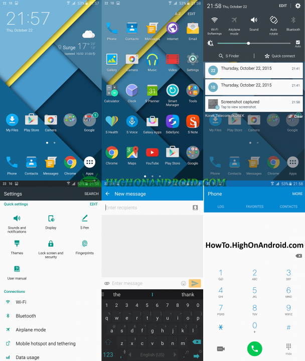 How to Change Themes on Samsung Galaxy Note 5 5