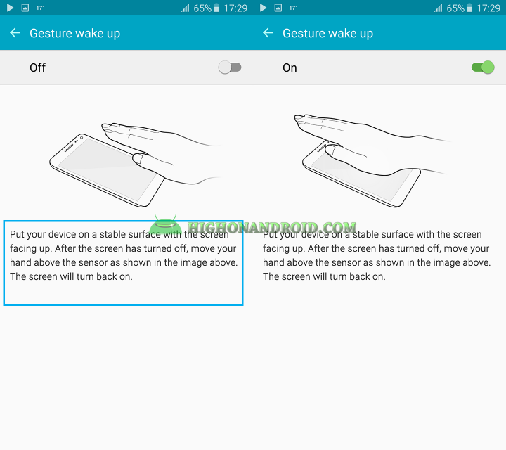 how to unlock galaxy note 5 with gesture 2