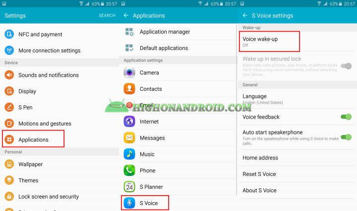 how to use S voice on galaxy note 5