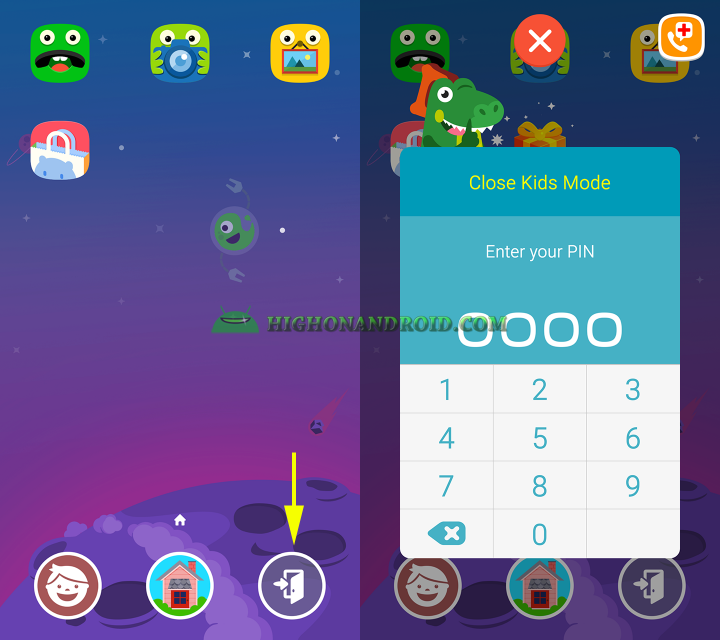 how to use kids mode on galaxy note 5 16