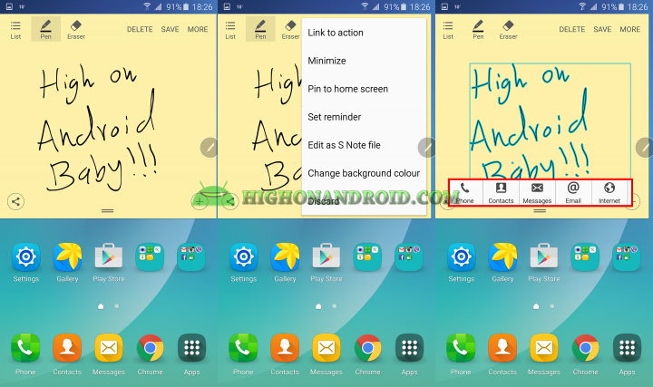 Galaxy Note  5 S pen tips and tricks 15